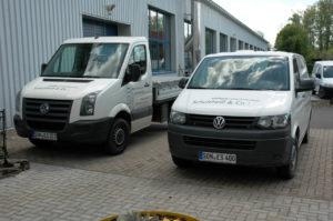 Unsere Fahrzeugflotte für den Hol- und Bringservice von Lasten bis 2,0 t