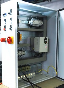 Schaltschrank mit Frequenzumrichter
