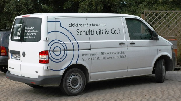 Eines unserer Servicemobile